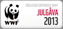Vi har skänkt en julgåva till WWF 2013